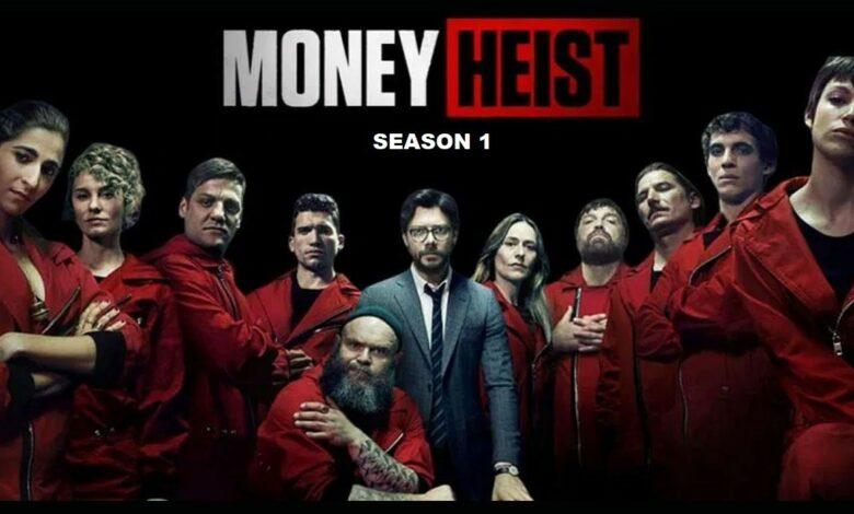 Money Heist Season 1